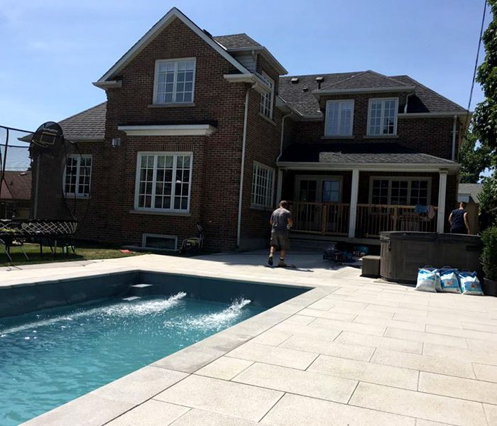 Pool preperation