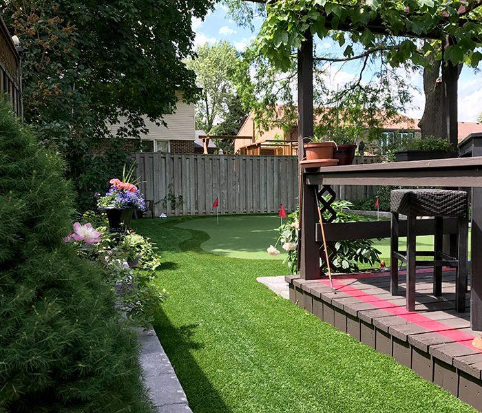 Putting-Green-retaining-wall-regrade-and-turf-walkway-1
